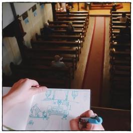 Bateau-Chapelle de Conflans